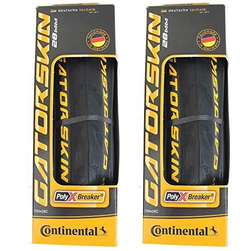 Continental GatorSkin DuraSkin Neumático, 2 unidades (plegable, 700 x 28 mm)