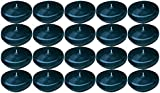 Biedermann & Sons 20 Round Floating Candles, Dark Blue