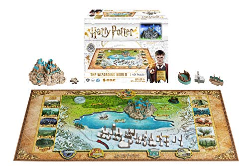 4D Cityscape - Harry Potter and Wizarding World 3D-Puzzle (829 pcs.)
