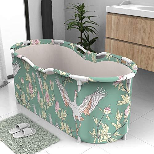 Faltbarer Badewanne,Portable Badewanne, Tragbare Klappbadewanne Für Erwachsene, Mobile Badewanne -117x70x50cm