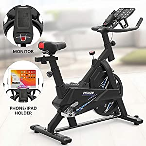 ZHUKEN Exercise Bikes Stationary,Exercise Bike for Home Indoor Cycling Bike for Home Cardio Gym,Workout Bike with 36 LBS Flywheel