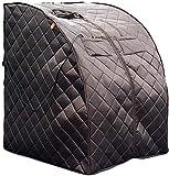 HEATWAVE BSA6315 Harmony Deluxe Oversized Portable Sauna, Cabin Size:...