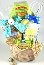 Seashells in the Sunshine Ocean Theme Gourmet Gift Basket   Gift for the Beach Lover