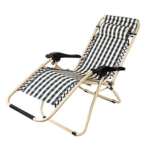 YLCJ Sonnenliege Falten Liegestuhl Tragbare Sommer Multifunktionsliege Im Freien Strandkorb Freizeit Stuhl Zusammenklappbar