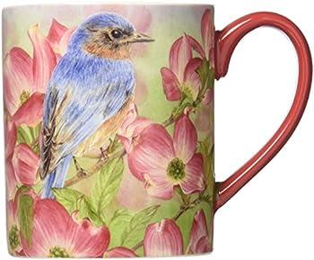 Lang Bluebird Of Happiness Mug by Jane Shasky 14 Oz