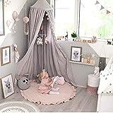 Homieco Alfombra redonda de bebé dulce de niño Color de dibujos animados de juego suave y cómoda Decoración de la habitación del bebé, Rosa