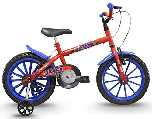 Bicicleta Infantil Aro 16 Dino Vermelha, Track Bikes