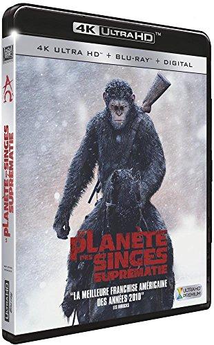 La Planète des Singes : Suprématie [4K Ultra Blu-Ray + Digital HD]