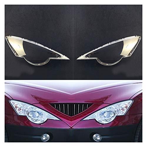 LCZ Lcbiao®. Auto-Scheinwerfer-Reparatur-Fit für SsangYong Actyon 2007~2015 Auto-Scheinwerfer-Objektiv-Ersatzautomatik-Shell-Scheinwerfer-Abdeckung (Color : Both Sides)