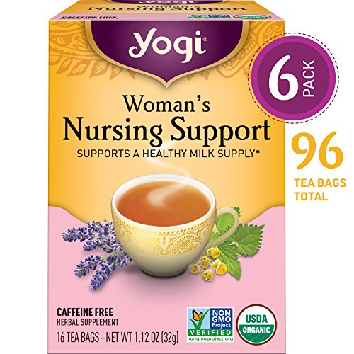Yogi Tea - Woman's Nursing Support - Supports a Healthy Milk Supply - 6 Pack, 96...