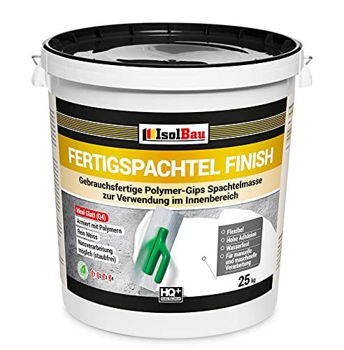 Spachtel masse Q4 Fertigspachtel Finish 25 kg Glätt Flächen Füll Fugenspachtel…