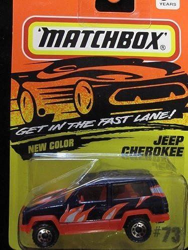 envío rápido en todo el mundo Jeep Cherokee Matchbox (negro flames) Super Fast Series    73 by Matchbox  precios mas bajos