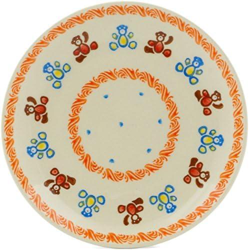 Polish Pottery 7½-inch Dessert Plate Bear Cer Teddy Ranking Ranking TOP10 TOP15 + Theme
