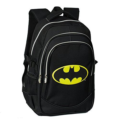 KARACTERMANIA Batman Batsignal Zaino Casual, 44 cm, 24,5 Liters, Nero (Negro)