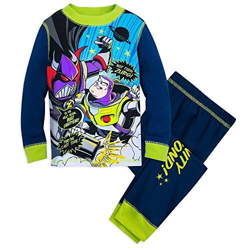 Disney Toy Story Glow-in-The-Dark PJ PALS Set for Boys Size 5 Multi