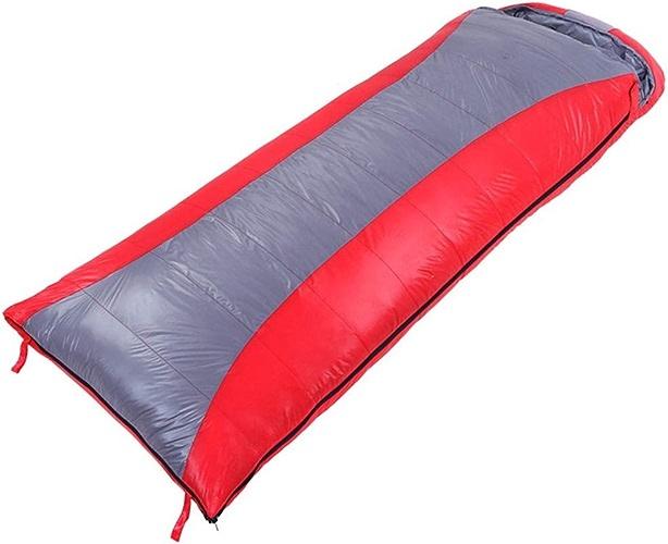 LEOO Sac de Couchage Enveloppe 3 Saison Léger Confort Portable Idéal pour Adultes Enfants Camping Sac à Dos Randonnée avec Compression Sac