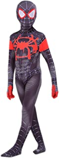 COSFANCY Kids Spider-Verse Cosplay Costume Jumpsuit