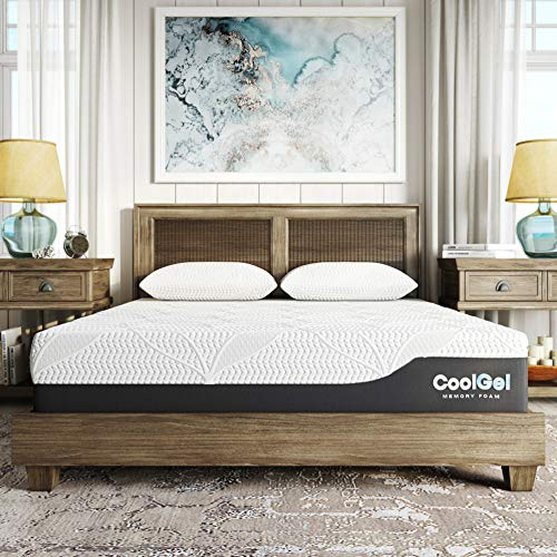 Classic Brands Cool Gel Chill Memory Foam 12-Inch Mattress...