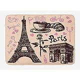 Paris Tour Eiffel Loisirs Vacances Frais Style Simple Entrée Chambre D'hôtel...