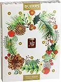 Duerr's - Calendario dell'Avvento perfettamente conservato, 24 porzioni di marmellata e 1 mini barattolo di marmellata con whisky