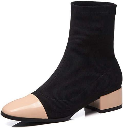 1TO9 MNH03625, Sandales Compensées Femme - Beige - Abricot, 36.5 EU