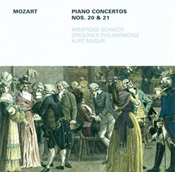 Wolfgang Amadeus Mozart: Piano Concertos Nos. 20 and 21 (Schmidt, Dresden Philharmonic, Masur)