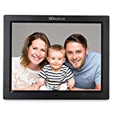 XElectron 12 inch IPS Digital Photo Frame/Video Frame with 1920×1080, 1080P Resolution, Plays Images, Video & Music, USB/SD Card Slot (Black)