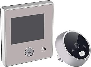 Erthree 2.8 Inch Video Doorbell,Wide Angle Peephole Doorbell,Intercom LCD Display Digital Viewer Video Door Monitor