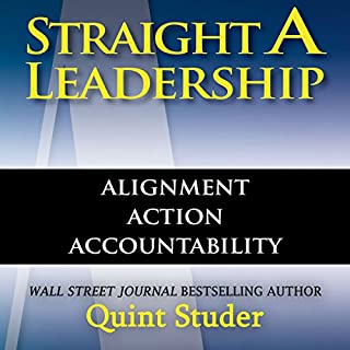 Straight A Leadership audiobook cover art