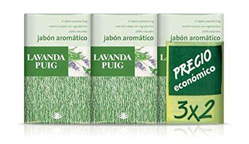 Agua Lavanda Puig - Jabón aromático - ingredientes