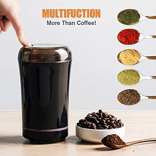 YONGWANG Molinillos de café eléctricos con cuchilla