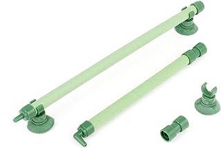 COMEYOU 5 Pezzi Adattatori per Tubi per raccordi per Tubo Flessibile Dritto in Ottone Gas Aria 8mm