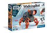 Clementoni - Ciencia y Juego Robotics-WalkingBot, Robot para niños, Kit de robótica (versión en Italiano) -8 años +, Fabricado en Italia, Multicolor, 19240