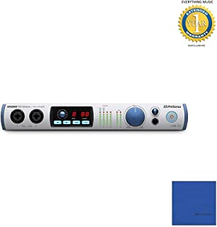 PreSonus Studio 192 Mobile 22x26 USB 3.0 Audio Interface with Microfiber and 1 Year Everything Music Extended Warranty