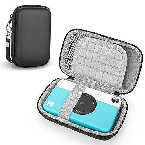 Estuche para Kodak Printomatic /Kodak Smile/Kodak Step/Kodak Mini 2HD Cámara de Impresión Instantánea, Funda Caja Protector Viaje Universal Cubrir Bolso (Black)