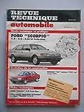 RTA N° Ford Scorpio 1.8 2.0 2.0i et Twin-cam Renault 21 moteur 1721cc 57609