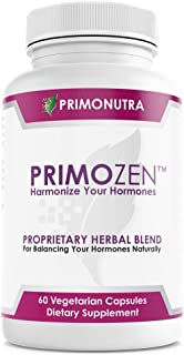 100% Plant Based Hormone Balance for Women - Fast PMS and Menopause Relief | Fertility and PCOS Supplement | Boost Libido Energy Weight Loss | 60 Vegan Non-GMO Capsules | PrimoNutra, Inc.