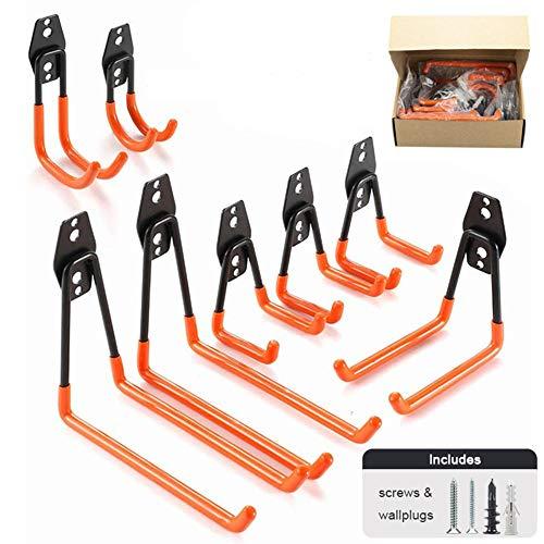 Garage Haken, Garage Storage Tool Met Dubbele Haken Voor Organizing Power Tools, Shed, Bike, Ladder, Bulk Items