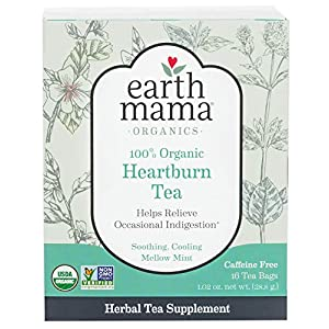 Earth Mama Organic Morning Wellness Tea Bags for Occasional Morning Sicknes