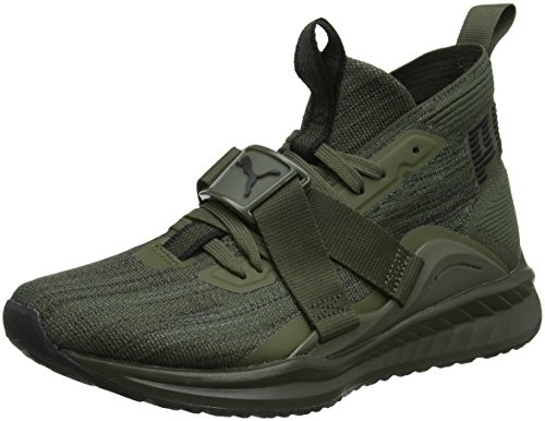 Puma Herren Ignite Evoknit 2 Cross-Trainer, Braun (Forest Night Black-Quiet Shade), 42 EU