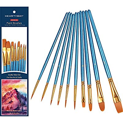 heartybay Paint Brush Sets All Pack