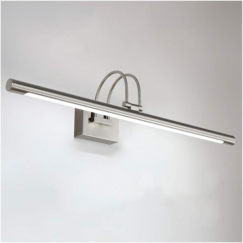 William 337 LED Spiegel Scheinwerfer, Wasserdicht Und Anti-fog Badezimmerspiegelschrank Lampe Retro Bad Schminktisch Spiegellampe [Energieklasse A +] (Farbe   Neutral-35CM 5W)