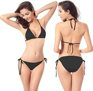 Qiyun Badeanzug Schwimmausrüstung Women Sexy Candy Color Classic Bikini Swimwear