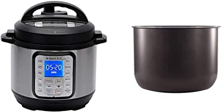 Instant Pot Duo Plus Mini 9-in-1 Electric Pressure Cooker, Sterilizer, Slow Cooker, Rice Cooker, 3 Quart, 13 One-Touch Pro...