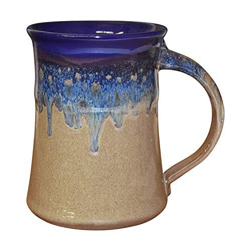 Clay in Motion Large Mug - Cobalt Canyon