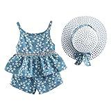 Completi per bebè per bambino, bimba per bambini Top per bambini con cinturino alla frutt...