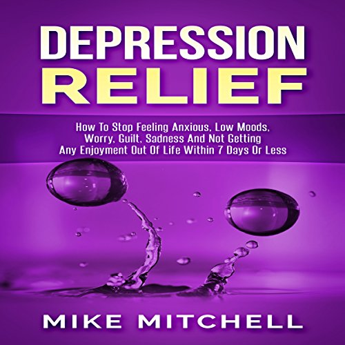 Depression Relief  audiobook cover art