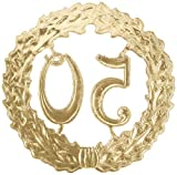 """Jubiläumskranz """"50"""", gold - 4"""