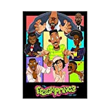Canvas Poster - Classic Fine Art Print The Fresh Prince of