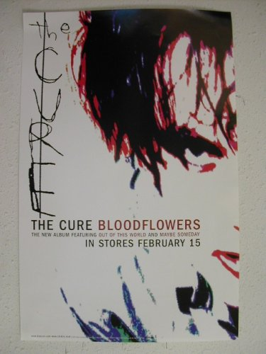 RhythmHound The Cure Poster Robert Smith Bloodflowers